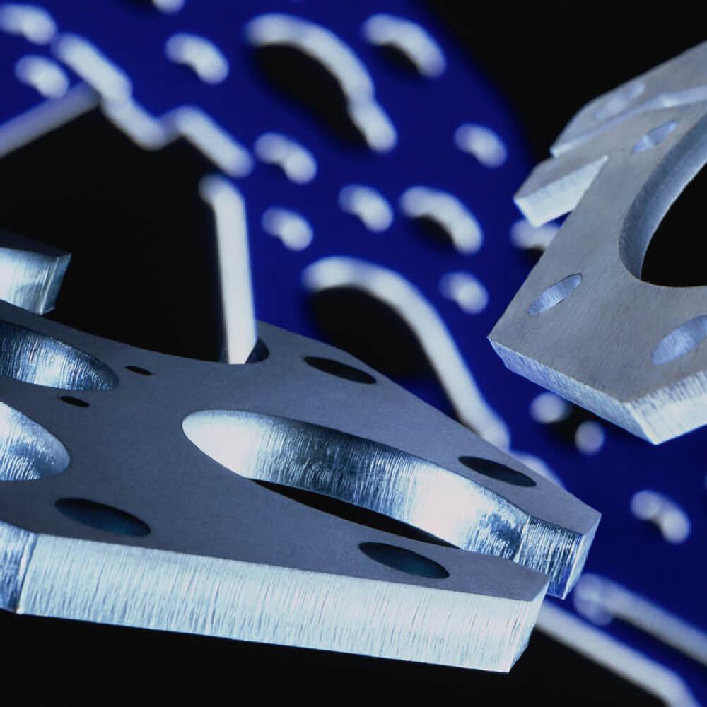 Blechwerke die mittels Laserschneiden bearbeitet wurden